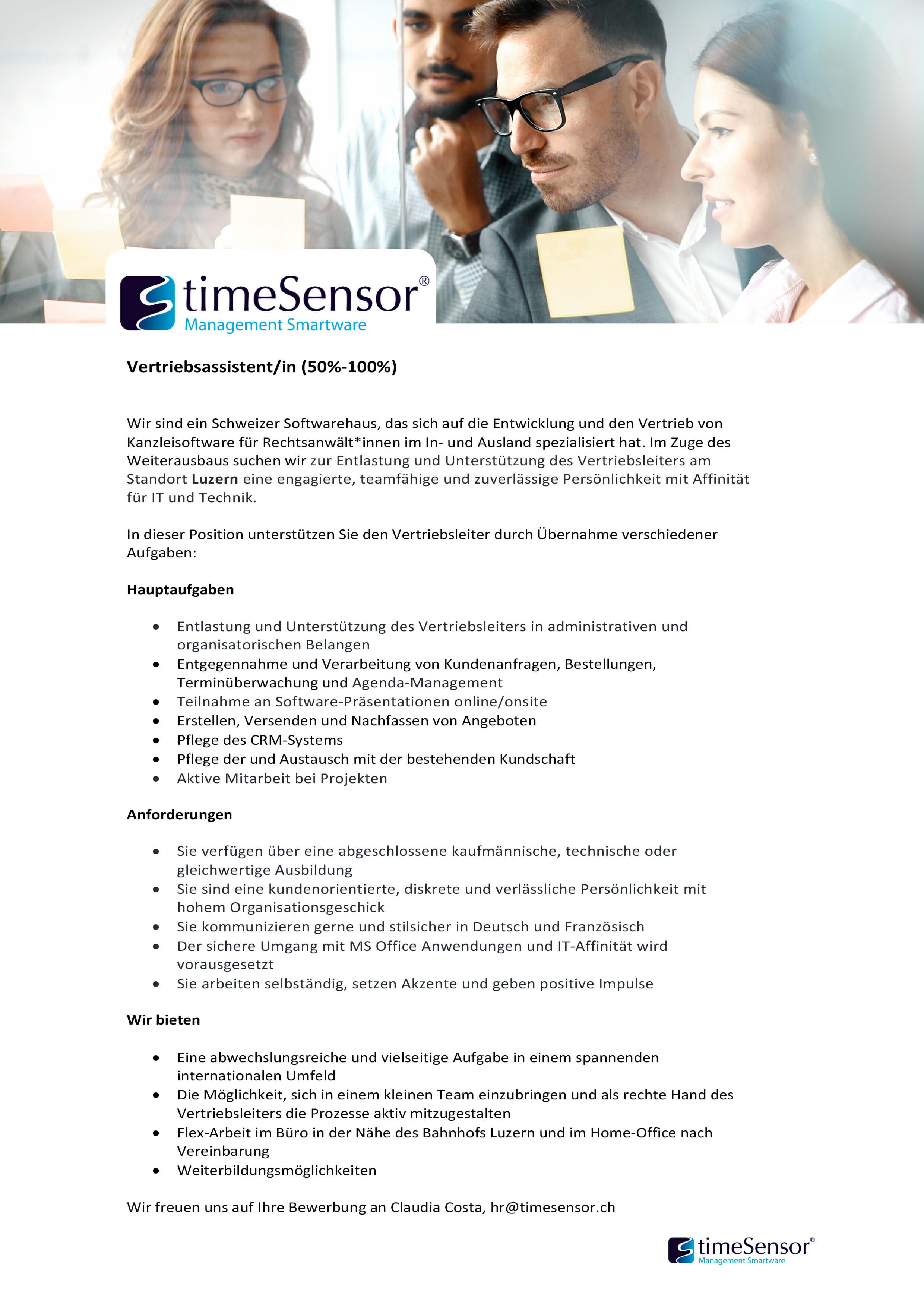 Jobs-kanzleisoftware timeSensor LEGAL